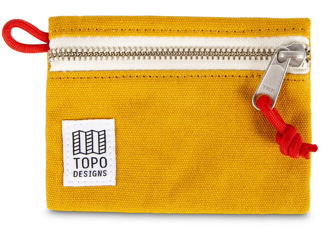 Topo Designs Accessoire Tasche S yellow canvas